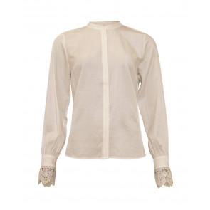 Soulmate | Margrete Shirt i White