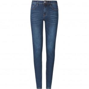 Soft Rebels | Mid Rise Slim Jeans Blue