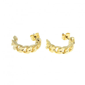 By Lil | Mie Hoops i gold