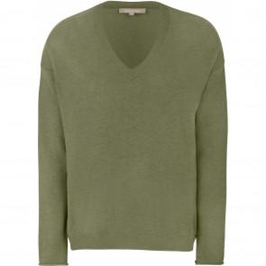 Soft Rebels | Marla Oversized Knit i Olive Drab Green