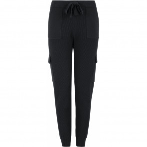 Soft Rebels | Peach Cargo Knit Pants i Black