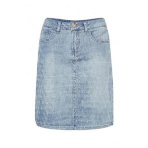 Cream | Robina Denim Skirt