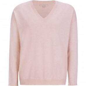 Soft Rebels | Marla Oversized V Knit i Sephia Rosa