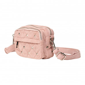 Noella | Kate Square Stud Bag i Rosa