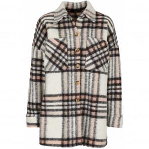Drys | Lea Wool Coat w Rose Checks