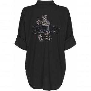 Marta du Chateau | Shirt i Black W Mouse