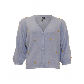 Soulmate | Sofie 1 Cardigan i Light Blue