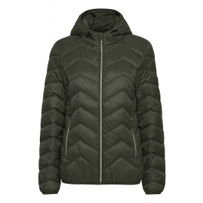 Fransa | Thinsulate Jacket i Black w Hoodie