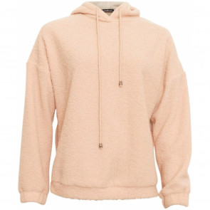 Soulmate | Marie Fluffy Hoodie Sweater i Camel