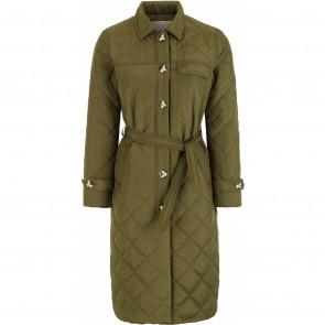 Soft Rebels | Stinna Quiltet Jacket i Olive