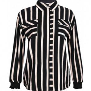 NÛ | Shirt w stripe 6333