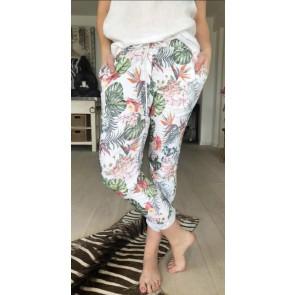 Cat & Co   Sweat Pants 7/8 W Flowers