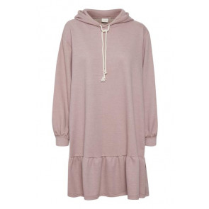 Cream | Talli Hoodie Sweat Dress i Rosa