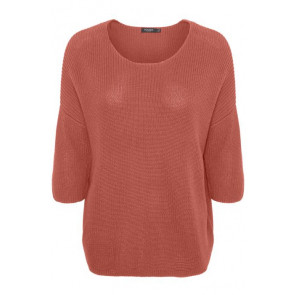 Soaked In Luxury | SL Tuesday Cotton Jumper i Barn Red