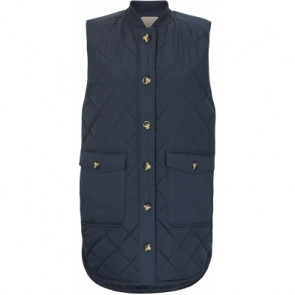Soft Rebels | Eileen Quilt Vest i Navy