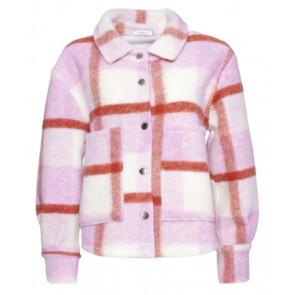 Noella | Viksa Short Jacket i Rosa/Red