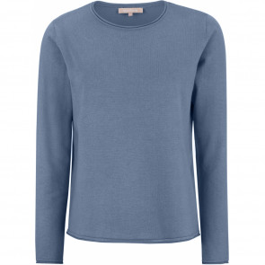 Soft Rebels | O-neck Knit i Bijou Blue
