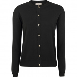 Soft Rebels | SR O-neck Cardigan i Black