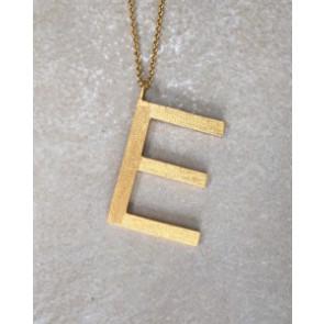ThreeM | Halskæde med bogstav E